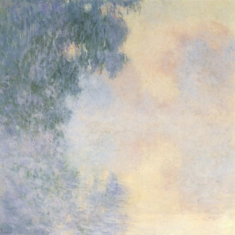 Claude Monet - Arm of the Seine near Giverny in the Fog [1897]