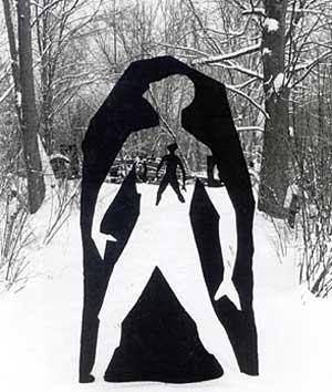 Frederick Franck Sculpture - Unkillable Human