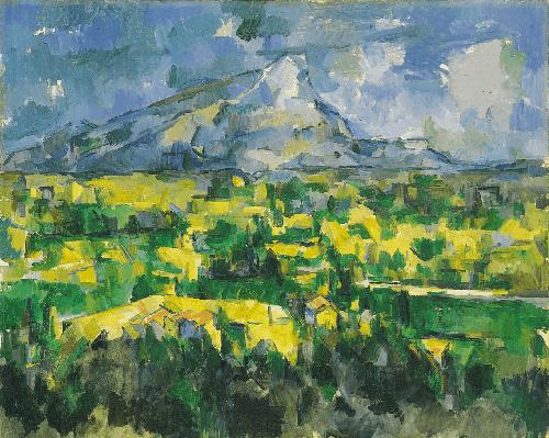 Paul Cézanne: Mont Sainte-Victoire (1902-04)
