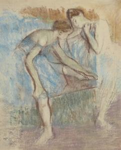 Edgar Degas: Danseuses au Repos