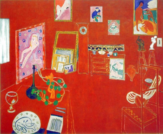 Henri Matisse: Red Studio