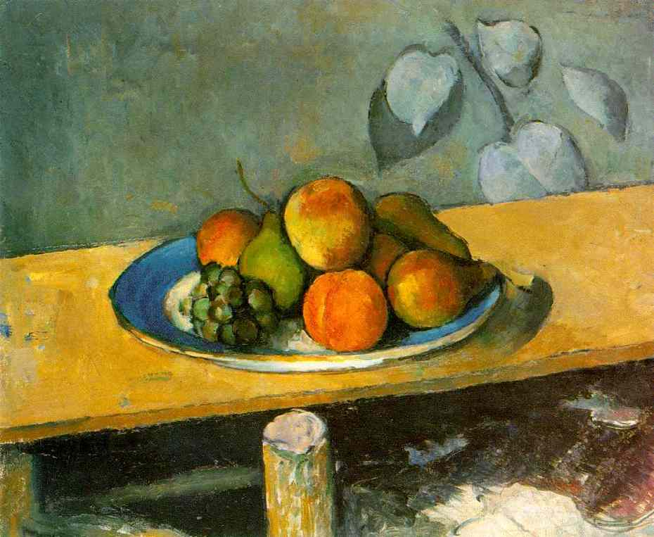 Paul Cézanne - Apples, Peaches, Pears, and Grapes