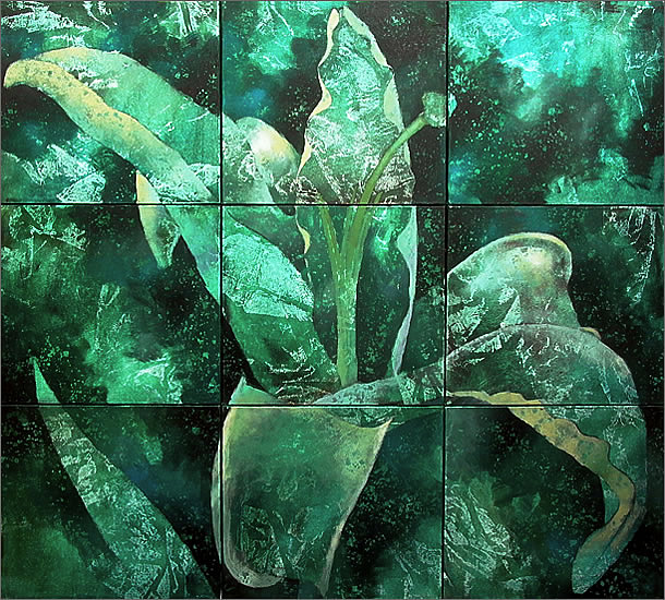 Robert Spellman: Green Lily