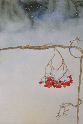 Robert Sinclair: Night Bent, watercolor