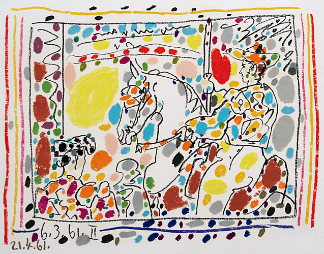 Pablo Picasso - Le Picador ii, 1961
