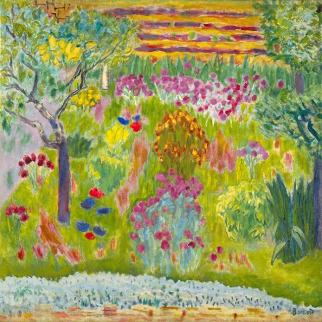 Pierre Bonnard: Jardin ca 1935