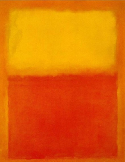 Mark Rothko: Orange and Yellow 1956