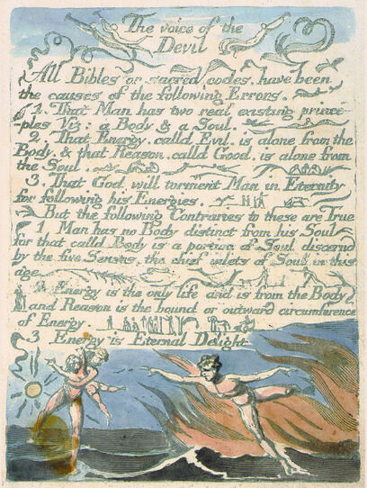 William Blake: The Marriage of Heaven and Hell, copy C, 1790 (Morgan Library and Museum): electronic edition