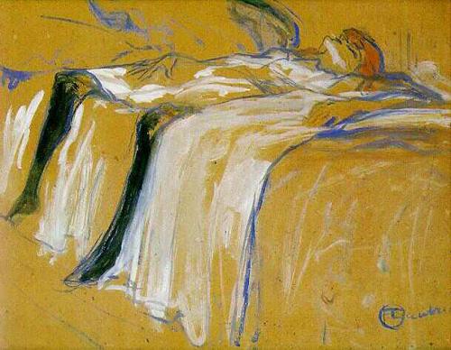 Henri de Toulouse-Lautrec:  Alone, 1896