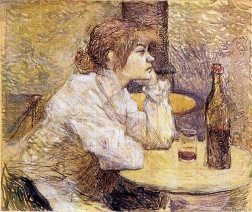 Henri de Toulouse-Lautrec: Portrait of Suzanne Valadon