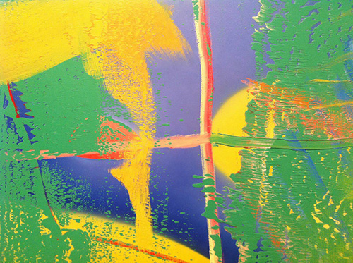 Painting by Gerhard Richter (detail)
