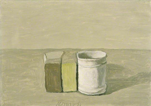 Morandi, Still Life, 1954, 26.5x41cm, Sainsbury Centre for Visual Arts, University of East Anglia, Britain