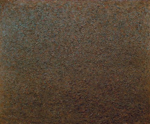 Milton Resnick, Saturn, 1976, 97 x 117 inches, National Gallery of Canada, Ottawa, Ontario