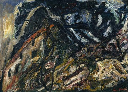 Chaim Soutine: Landscape at Céret circa 1920-1