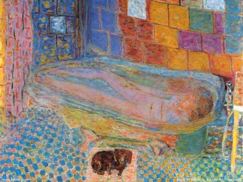 Pierre Bonnard: Nude in a Bathtub