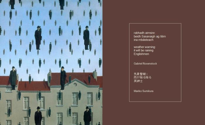 Magritte-Rosenstock haiku 3