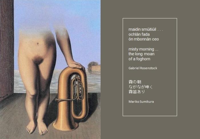Magritte-Rosenstock haiku 4