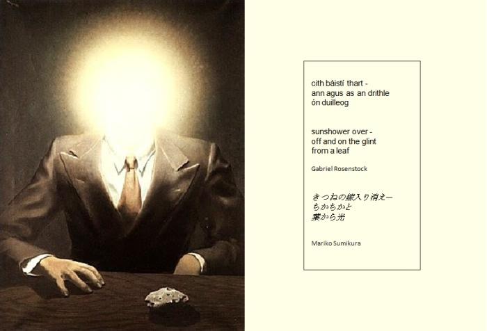 Magritte-Rosenstock haiku 5