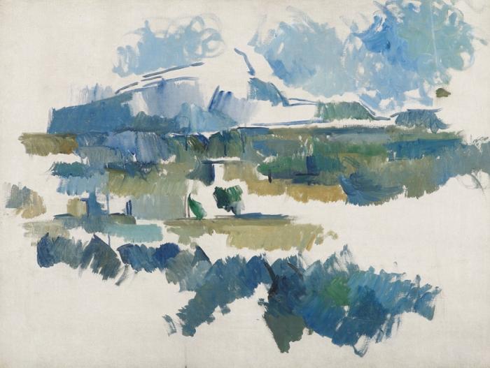 Paul Cézanne - La Montagne Sainte Victoire, vue des Lauves