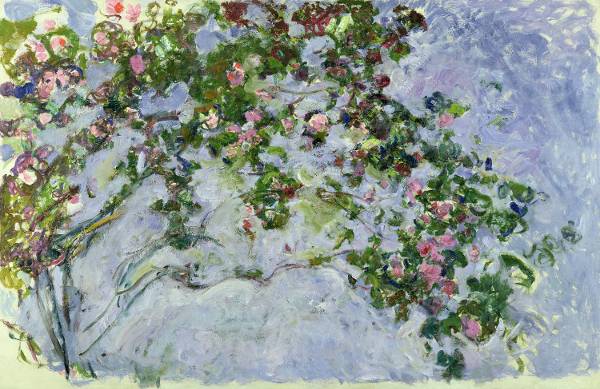 Claude Monet - The Roses, 1925 - 26