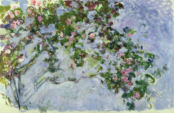 Claude Monet - The Roses, 1925 - 26