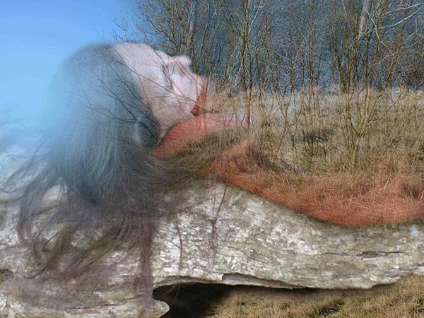 Eva Millauer - Digital Photo Montage: 'Thank You'