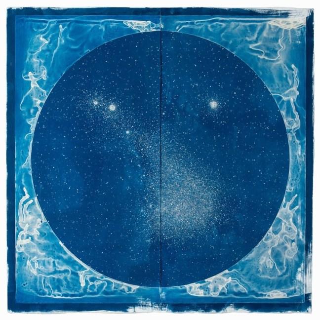 Lia Halloran, Cyanotype print