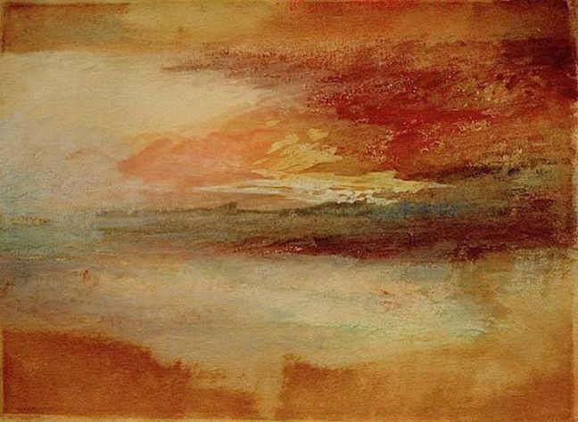 Joseph Mallord William Turner - Sunset at Margate
