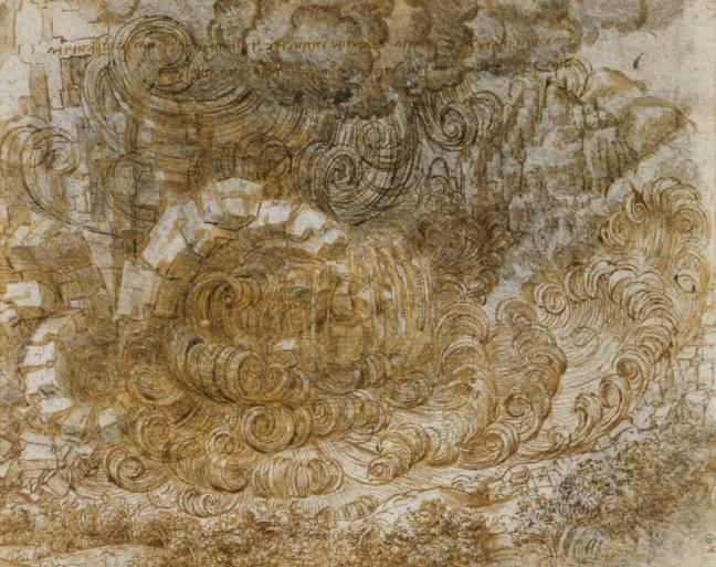 Leonardo da Vinci - Deluges and Maelstroms, The Royal Collection