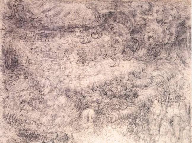 Leonardo da Vinci - Deluges and Maelstroms, The Royal Collection